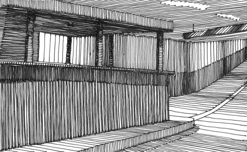 tekeningen, lijn Parkeren