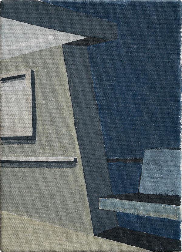 schilderijen Pont bij avond
