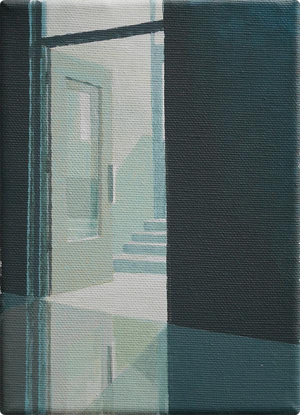 schilderijen Entree met trap