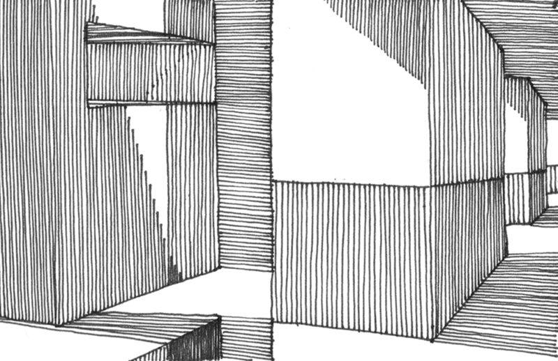 tekeningen, lijn Doorzicht