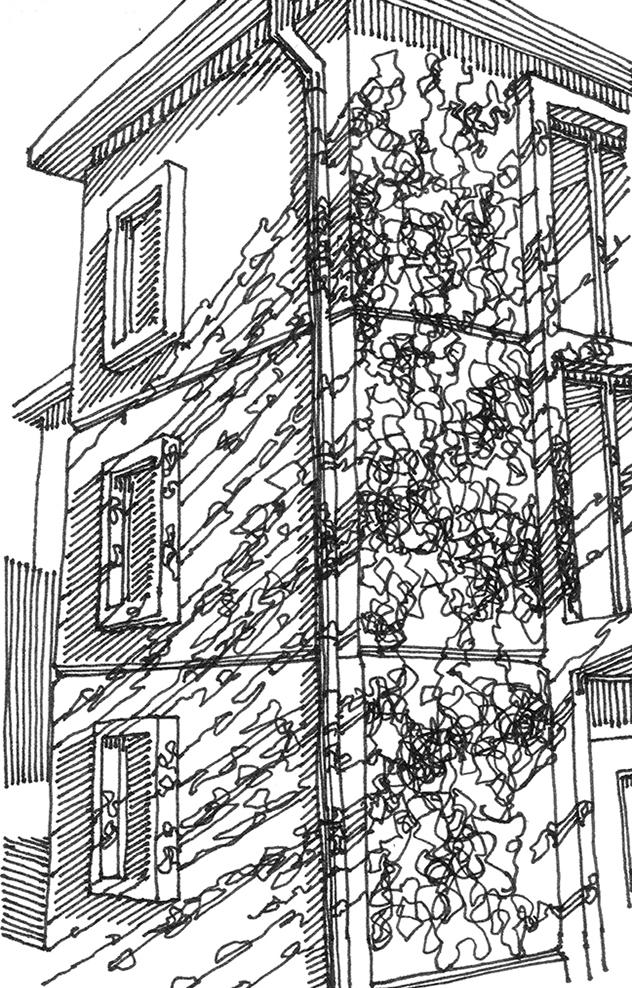 tekeningen, lijn Schaduw in Lyon
