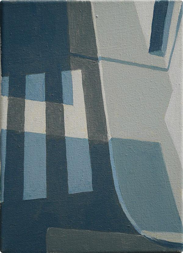 schilderijen Oversteekplaats met slagschaduw