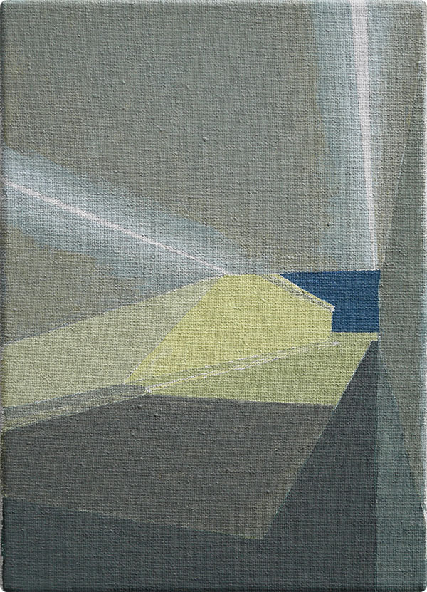 schilderijen Tunnel bij kunstlicht