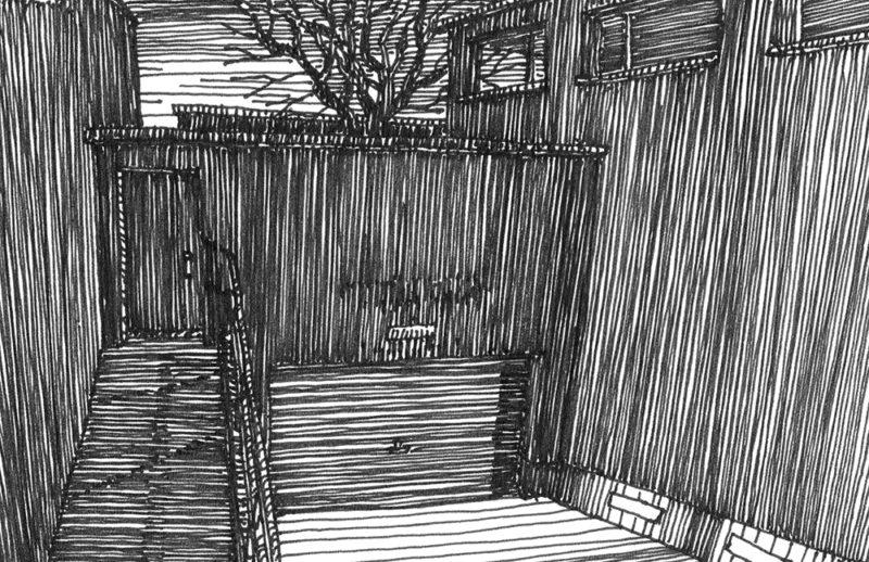 tekeningen, lijn Anna Paulownastraat (winter)