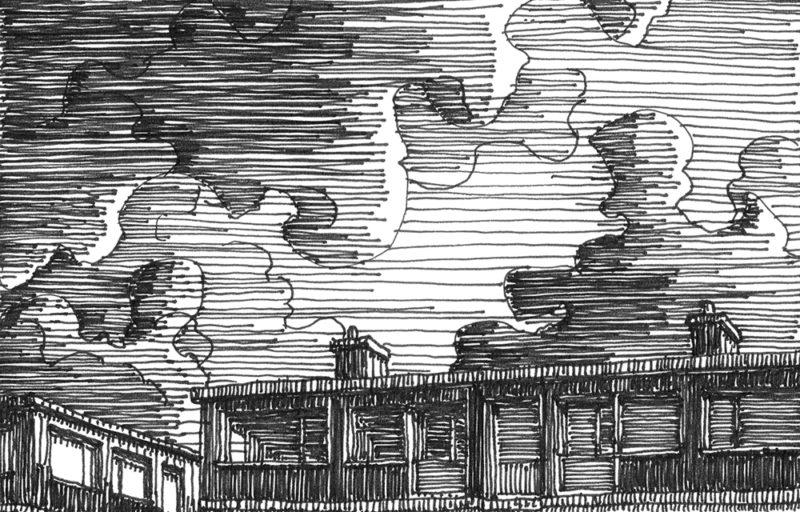 tekeningen, lijn Koninginnegracht