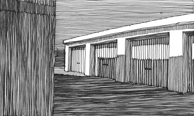 tekeningen, lijn Schemerboxen