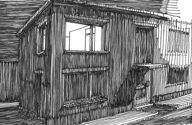 tekeningen, lijn Bad Herrenalb