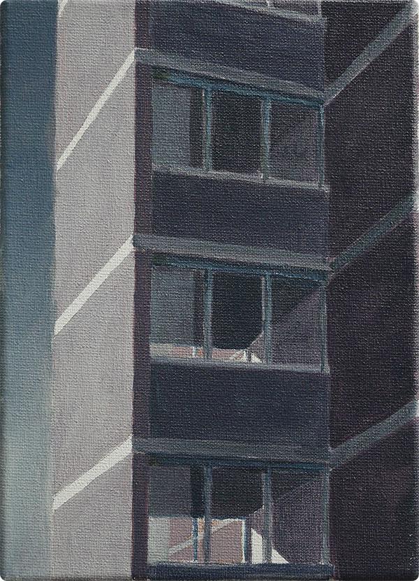 schilderijen Gesloten trappenhuis