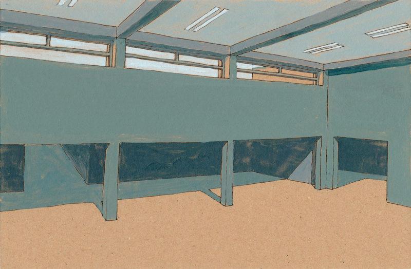 tekeningen, kleur Leimuiden interieur 2