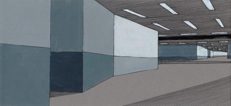 tekeningen, kleur Metro