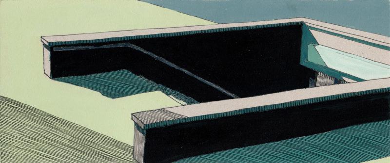 tekeningen, kleur Ondergronds